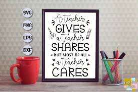 Includes an envelope to fit your card perfectly. Teacher Svg Teacher Appreciation Svg Teacher Quote Svg 367297 Svgs Design Bundles