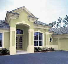 exterior house painting images. exterior:nice beige exterior house paint with dark chocolate roof painting images