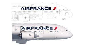 Dessin Avion Air France