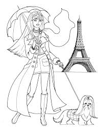 Small Picture Fashion Coloring Pages For Teenager Coloring Home