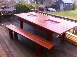 diy outdoor table with cooler. Fine Diy Patio Table Built Coolers Diy Pinterest With Outdoor Cooler W