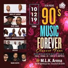 90s Music Forever Concert Tour At Savannah Civic Center