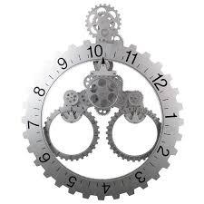 gear wall clock