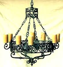 iron candle chandelier black candle chandelier non electric chandeliers outdoor wrought iron candle chandelier australia
