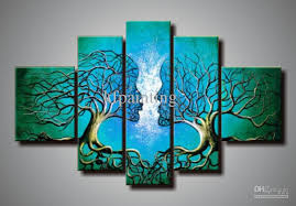 buy high quality 100 hand painted painting directly from china canvas art suppliers 1 painted by professional artists 2  on abstract wall art set of 2 with 2018 100 hand painted abstract painting unframed wall art canvas