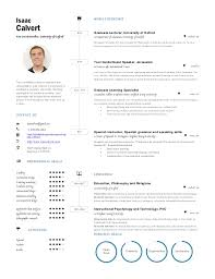 One Page Resume Unique Resume One Page