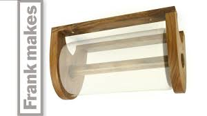 towel stand wood. Paper Towel Holder Stand Wood