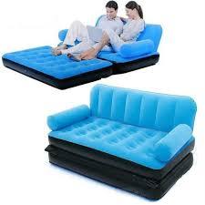 sofa lipat. sofabed kasur udara angin 2 in 1 double sofa lipat