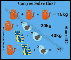 can you solve these maths equations
