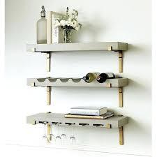 Gold Floating Shelves Enchanting Floating Bar Shelf Gray Gold Bar Shelf Floating Shelf Bar Ideas