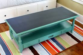 Small Picture chalk paint coffee table uk Painted Coffee Tables Makeover