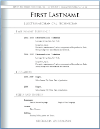 Free Resume Templates Microsoft Word 2003 For Builder Download