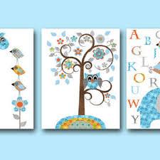 giraffe nursery alphabet baby boy nursery art nursery wall art kids room decor kids art set