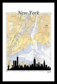 Chart Of New York Harbor Details About New New York Harbor Navigation Chart Very Cool Montage New