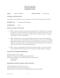 Free Download Supermarket Cashier Job Description Resume