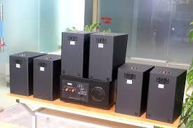Loa cafe, Loa nhà hàng: Combo dàn âm thanh quán cafe A901 + 6 V55C