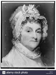 Abigail Smith Adams wife of John Adams Stock Photo - Alamy