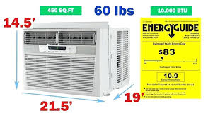 Window Air Conditioner Sizing Chart Window Ac Room Size Catink Co