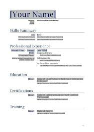 Resume Template Fill In Extraordinary Free Blank Resume Templates Printable Kubreeuforicco