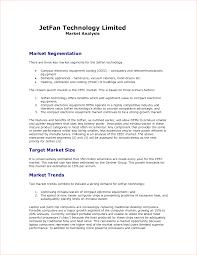 Sample Marketing Analysis 24 Marketing Analysis Template Procedure Template Sample 3
