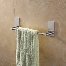 kitchen hand towel holder. KES 3M Self Adhesive Towel Bar 12-Inch Small Bathroom Kitchen Hand Hanger Sticky Stick Holder