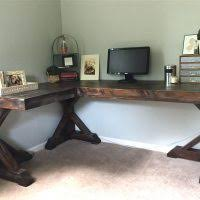 how to build an office. How-to-make-an-l-shaped-desk-plan- How To Build An Office