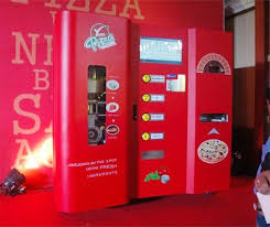 Make Your Own Pizza Vending Machine Simple Mumbai Local Stations Are Soon Getting Instant Pizza Vending