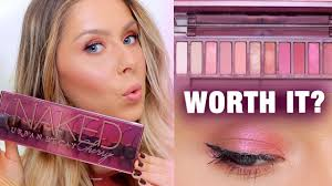 <b>URBAN DECAY NAKED CHERRY</b> EYESHADOW PALETTE REVIEW