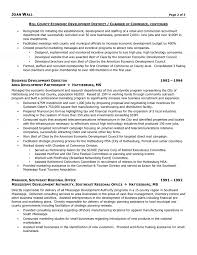 Chamberf Commerce Director Resume Examples Collection Solutions