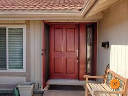 Beauteous Security Exterior Door In Front Doors Front Door Double