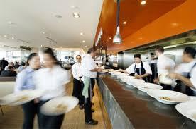 busy restaurant scene. Restaurant Productivity Busy Scene Y