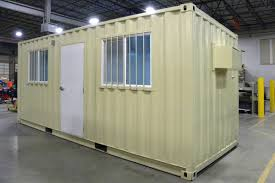 Storage container office Underneath Product Detail Home u003e 20ft Office Container Wayside Trailers Moveable Container Storage 20ft Office Container