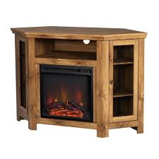 walker edison casual fireplace tv stand