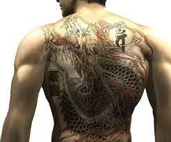 Tetování Yakuza Fotogalerie Motivy Tetování