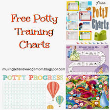 musings of an average mom potty training chart round up potty training chart round up