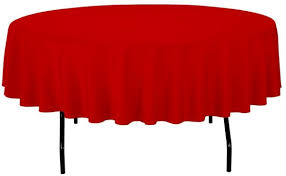 gee di moda tablecloth 90 inch round tablecloths for circular table cover in red washable polyester great for buffet table parties holiday dinner