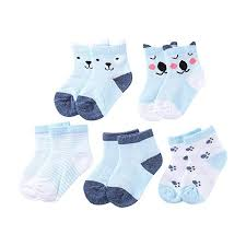 Nellnissa <b>5pairs</b>/<b>Lot</b> Cartoon Toddlers Kids Socks Cute Baby Boys ...