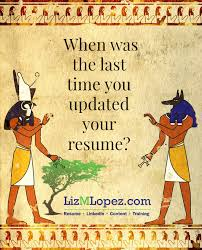 Resume Fail 1 Using An Outdated Resume Format Liz M Lopez