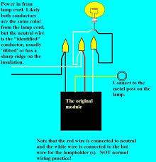 simple conversion of metal lamp to use touch switch steps wiring the switch the instructions