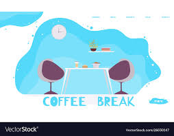 Office Banner Template Office Lunch Time And Coffee Break Banner Template