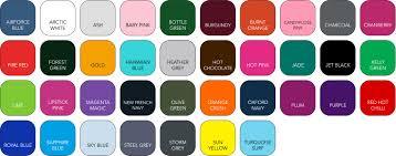 Hoodie Colour Chart Wessex Custom Clothing Popular Sweatshirts Jogging Bottoms