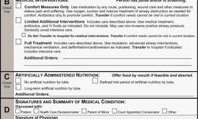 Sample Advance Directive Form | Nfcnbarroom.com