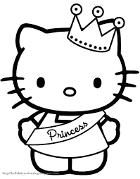 Hello Kitty Drawings Coloring Pages Ebrokerage Info