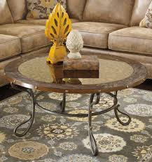 ashley furniture coffee table round