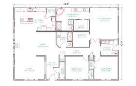 simple 4 bedroom house plan talentneeds com