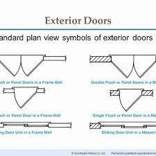 floor plan symbols door. Modren Floor Door Awesome Chapter 16 Floor Plan Symbols Ppt Related Post To G