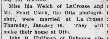 Pearl Clark 2nd marriage - Newspapers.com