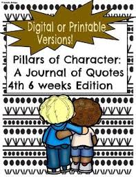 best pillars of character ideas pillars of  best 25 6 pillars of character ideas pillars of character character counts and character education