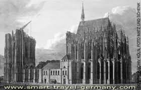 「Kölner Dom construction started」の画像検索結果