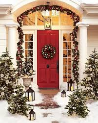 Outside Christmas Door Decorations Xmas Decoration For Front Door ...